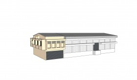 Draw 3D Building by